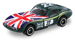アピタピアゴオリジナル<世界の国旗トミカ> トヨタ2000GT イギリス国旗タイプⅡ