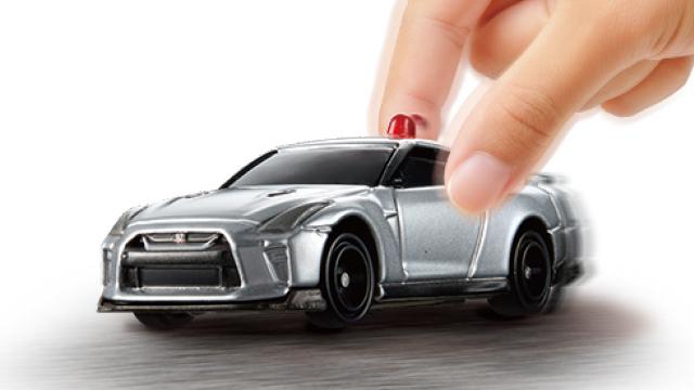 トミカ4D 日産 GT-R 覆面パトロールカー