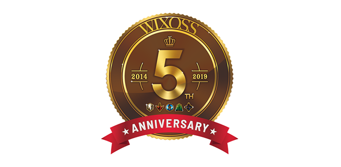 WIXOSS 5周年ロゴ画像