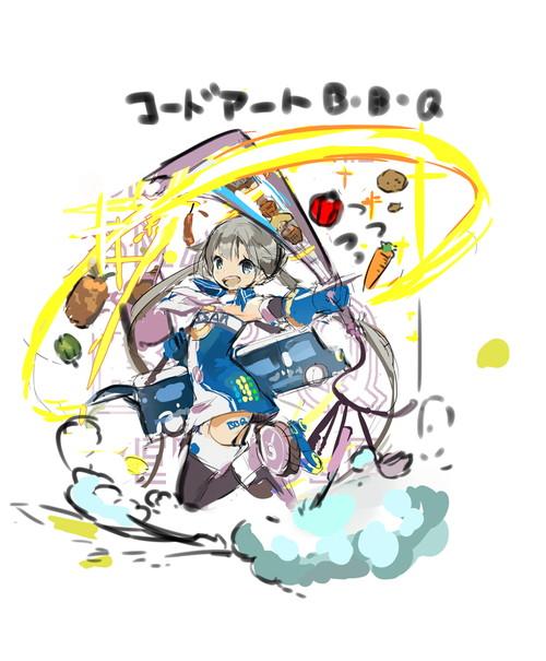 コードアート B・B・Q